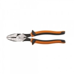 "Insulated 9"" Slim Side-Cutting Pliers, Orange & Gray"