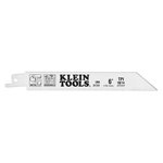 Six Inch 10/14 TPI Reciprocating Saw Blades, Pack of 5