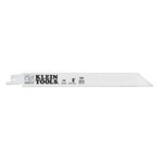 Eight Inch 10/14 TPI Reciprocating Saw Blades, Pack of 5