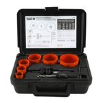 8-Piece Bi-Metal Hole Saw Kit