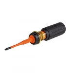 2-in-1 Flip-Blade Screwdriver, #1 Phillips & 3/16-in Slotted End