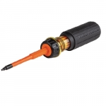 2-in-1 Flip-Blade Screwdriver, #1 & #2 Square Ends