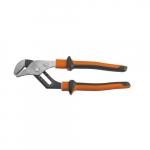 "Insulated 10"" Slim Pliers, Orange & Gray"