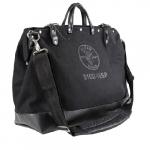 18-in Deluxe Tool Bag, Black