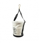 Heavy-Duty Tapered-Wall Bucket - 15 Inside Pockets