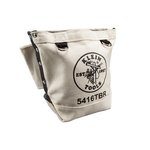 Ten Inch Canvas Bolt Retention Pouch with Bull-Pin Loops