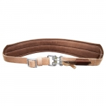 Padded Leather Quick-Release Belt, XL, Tan