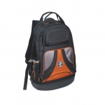 Black Tradesman Pro Organizer Backpack, 39 Pockets