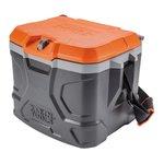 17 Quart Black/Orange Tradesman Pro Tough Box Cooler