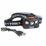 Rechargeable Headlamp w/ Strap and Auto Off, 400 lm