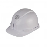 Hard Hat, Cap Style, Non-Vented, White