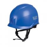 Non-Vented Safety Helmet, Class E, Blue