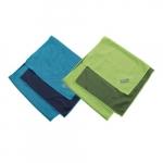 Mesh Cooling Towel, Blue/Lime