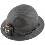 KARBN Premium Hard Hat w/ Headlamp, Non-vented, Class E, Up to 20kV