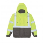 High-Visibility Winter Bomber Jacket, Large