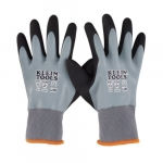Thermal Dipped Gloves, Gray, Large