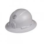 Hard Hat, Full Brim, Non-Vented, White