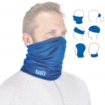 Washable Cooling Band Neck and Face, UPF 50+, Blue