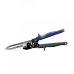 Duct Cutter with Built-In Wire Cutter, Blue & Gray