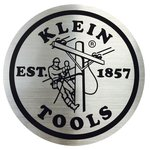 Shiny Metallic 2.25-Inch Klein Tools Lineman Decal