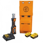 20V Battery-Operated Cutter/Crimper Kit (No Heads), 4 Ah