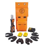 20V Battery Operated 7 Ton Cutter & Crimper Kit
