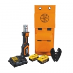 20V Battery-Operated Cable Crimper w/BG Die & D3 Groove Head, 4 Ah