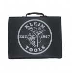 Black Lineman Logo Stadium Cushion