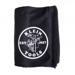 Black Cotton & Fleece Lineman Logo Blanket