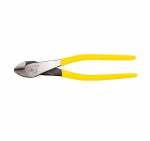 High-Leverage Diagonal-Cutting Pliers, Angled Head, 9-Inch
