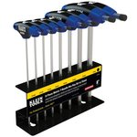 8 Piece Journeyman T-Handle Hex Key Set