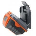 Headlamp for Hard Hat, Alkaline, 3 x AAA Batteries