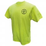 HiViz Safety T-Shirt, XL, Green