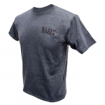Hanes Tagless T-Shirt, XL, Gray