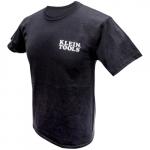 Hanes Tagless T-Shirt, XXXL, Black