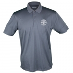 Sport-Tek Short-Sleeved Polo Shirt, Medium, Iron Gray
