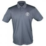Sport-Tek Short-Sleeved Polo Shirt, XXL, Iron Gray