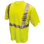 HiViz High Visibility Reflective T-Shirt, Small, Green