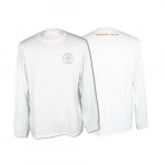 Hanes Tagless Long-Sleeved T-Shirt, Large, White