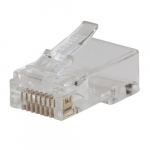 Modular Data Plugs, CAT5e, 200 Pack