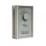 Mechanical Thermostat, Vertical, Single-Stage, 24V, Beige