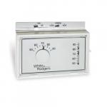 Mechanical Thermostat, Horizontal, Single-Stage, 24V, Beige