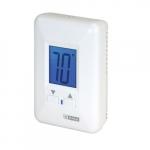 Electronic Non-Programmable Thermostat, 22 Amp, 208V/240V, White