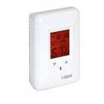 Electronic Programmable Thermostat, 22 Amp, 120V, White