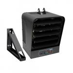 10kW Garage Heater w/ Hi-Lo Switch & Fan Delay, 725 CFM, 240V, Gray