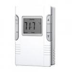 Electronic Programmable Thermostat, 16 Amp, 120V/208V/240V, White