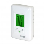 Electronic Non-Programmable Thermostat for Hydronic Heaters, 12.5 Amp, 120V, White
