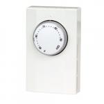 Mechanical Thermostat, Double Pole, 22 Amp, 120V-277V, White