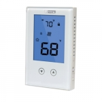 Electronic Non-Programmable Thermostat, Double Pole, 15 Amp, 120V or 208V/240V, White