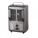 1500W Portable Utility Heater, 175 Sq Ft, 12.5 Amp, 120V